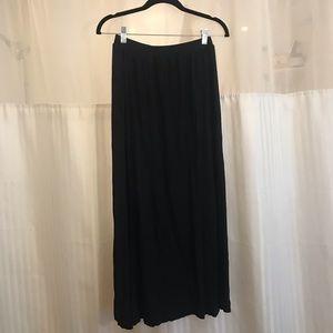 Black H&M Maxi Skirt